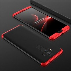 Coque 360 Huawei Mate 10 Noir et Rouge