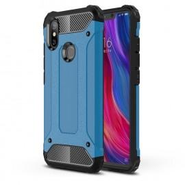 Coque Xiaomi MI 8 Anti Choques Bleu