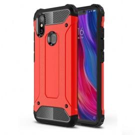Coque Xiaomi MI 8 Anti Choques Rouge