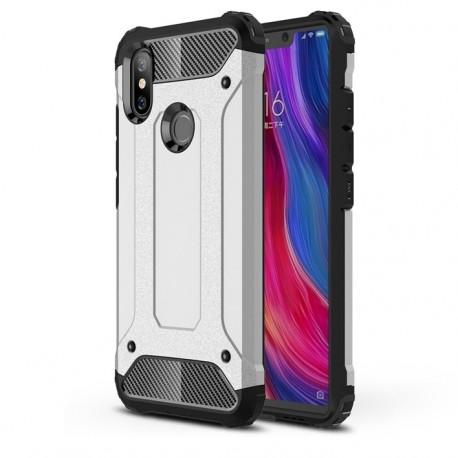 Coque Xiaomi MI 8 Anti Choques Grise