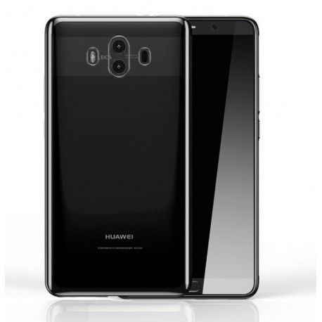 Coque Huawei Mate 10 Silicone Chromée Argent