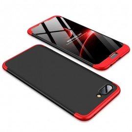 Coque 360 Honor 10 Noir et Rouge