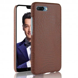Coque Honor 10 Cuir Marron