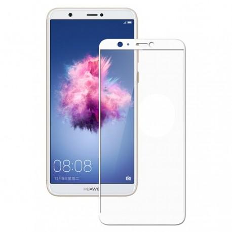 Verre trempé Huawei P Smart Protecteur d'écran Blanc