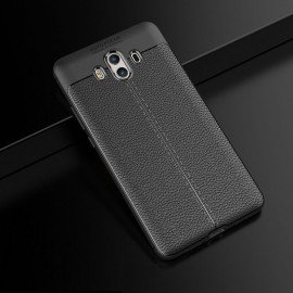 Coque Silicone Huawei Mate 10 Cuir 3D