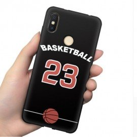 Coque Silicone Xiaomi MI 8 Basketball