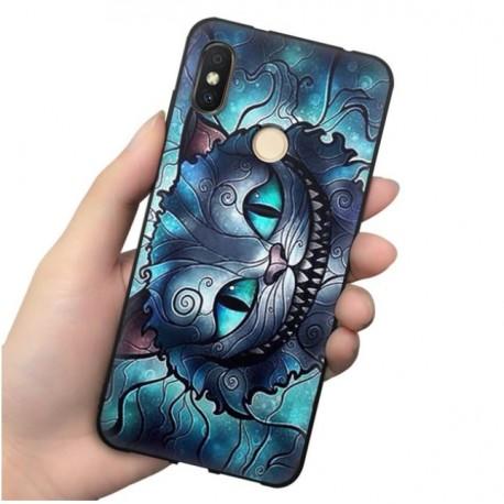 Coque Silicone Xiaomi MI 8 Chat Mystique