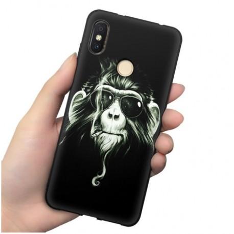 Coque Silicone Xiaomi MI 8 Singe