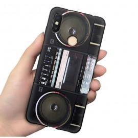 Coque Silicone Xiaomi MI 8 Radio Cassettes