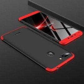 Coque 360 Xiaomi Redmi 6 Noir et Rouge