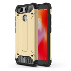 Coque Xiaomi Redmi 6 Anti Choques Dorée