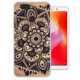 Coque Silicone Xiaomi Redmi 6 Fleur