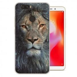 Coque Silicone Xiaomi Redmi 6 Lion