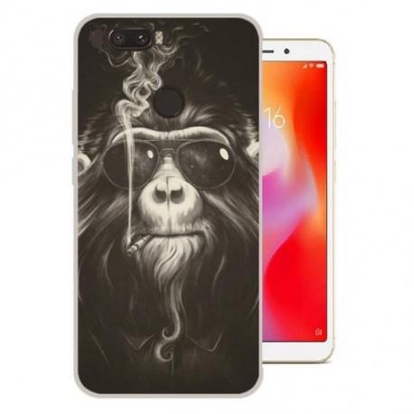 Coque Silicone Xiaomi Redmi 6 Singe
