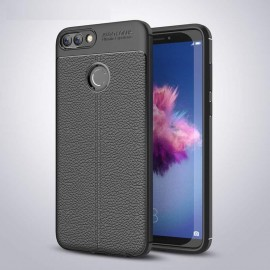 Coque Silicone Huawei P Smart Cuir 3D
