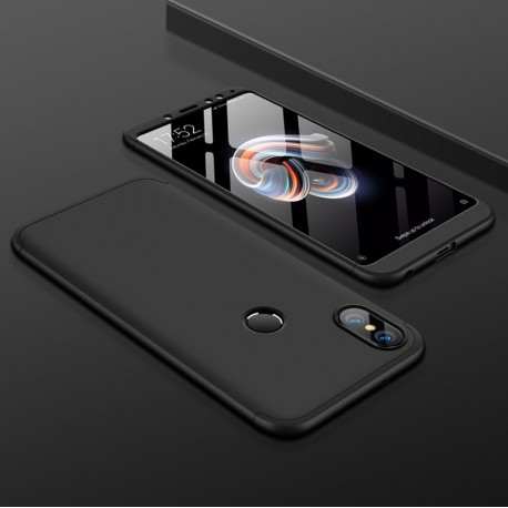 Coque 360 Xiaomi Redmi S2 Noir