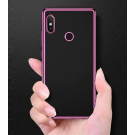 Coque Xiaomi Redmi S2 Tpu Bords Rose