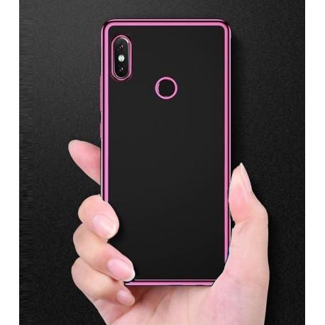 Coque Xiaomi Redmi S2 Tpu Bords Rose