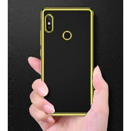 Coque Xiaomi Redmi S2 Tpu Bords Or