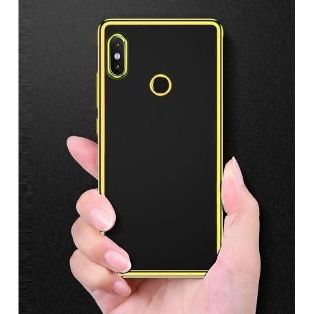 Coque Xiaomi Redmi S2 Tpu Bords Or