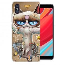 Coque Silicone Xiaomi Redmi S2 Vilain Chat