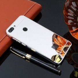 Bumper Huawei P Smart  Aluminium Mirroir Gris Argent