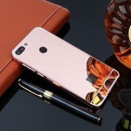 Bumper Huawei P Smart  Aluminium Mirroir Or Rose