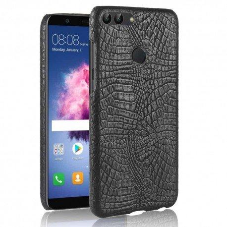 Coque Huawei P Smart Cuir Noir