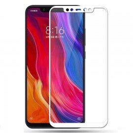 Verre Trempé Xiaomi Mi A2 Lite Protecteur d'écran Blanc