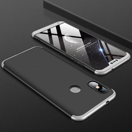 Coque 360 Xiaomi Mi A2 Lite Noir et Grise