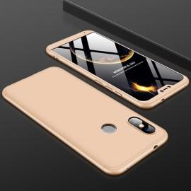 Coque 360 Xiaomi Mi A2 Lite Dorée
