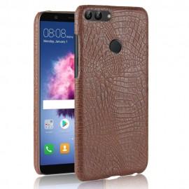 Coque Huawei P Smart Cuir Marron
