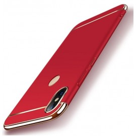 Coque Xiaomi MI A2 Lite Rigide Chromée Rouge
