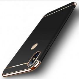 Coque Xiaomi MI A2 Lite Rigide Chromée Noir