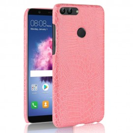 Coque Huawei P Smart Cuir Rose