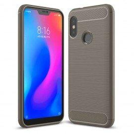 Coque Silicone Xiaomi MI A2 Lite Brossé Grise
