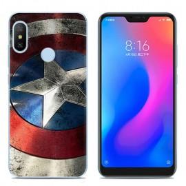 Coque Silicone Xiaomi MI A2 Lite America