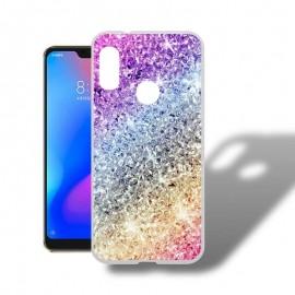 Coque Silicone Xiaomi MI A2 Lite Bling