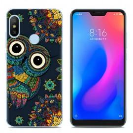Coque Silicone Xiaomi MI A2 Lite Hiboux