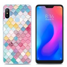 Coque Silicone Xiaomi MI A2 Lite Aquarelle
