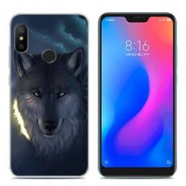 Coque Silicone Xiaomi MI A2 Lite Loup