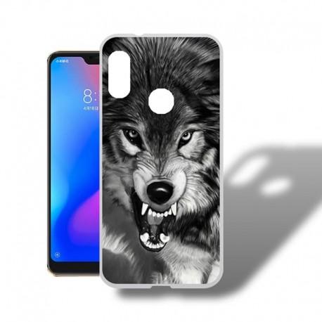 Coque Silicone Xiaomi MI A2 Lite Loup II
