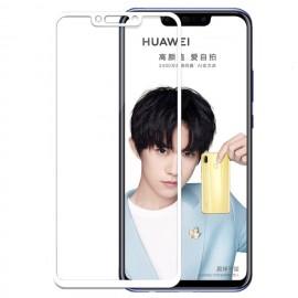Verre trempé Huawei P Smart Plus Protecteur d'écran Blanc