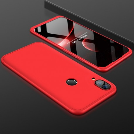 Coque 360 Huawei P Smart Plus Rouge