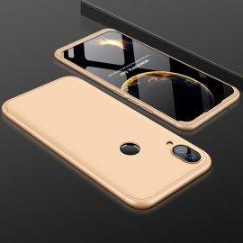Coque 360 Huawei P Smart Plus Dorée