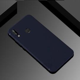 Coque Silicone Huawei P Smart Plus Extra Fine Bleu