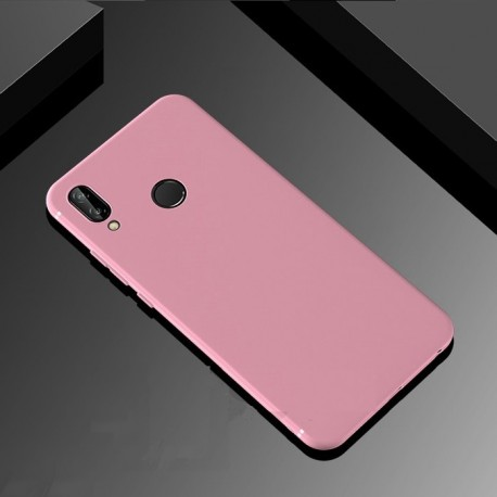 Coque Silicone Huawei P Smart Plus Extra Fine Rose