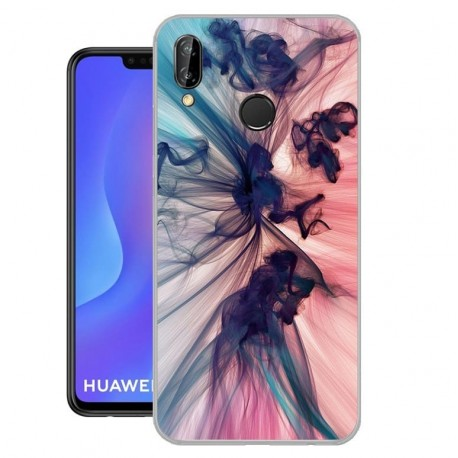 Coque Silicone Huawei P Smart Plus Fumée