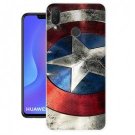 Coque Silicone Huawei P Smart Plus America