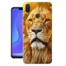 Coque Silicone Huawei P Smart Plus Lion